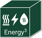 Energy3: A thermal energy storage system providing heating, hot water and electricity